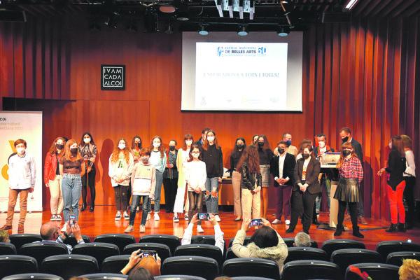 Diversos premis per als estudiants de Belles arts