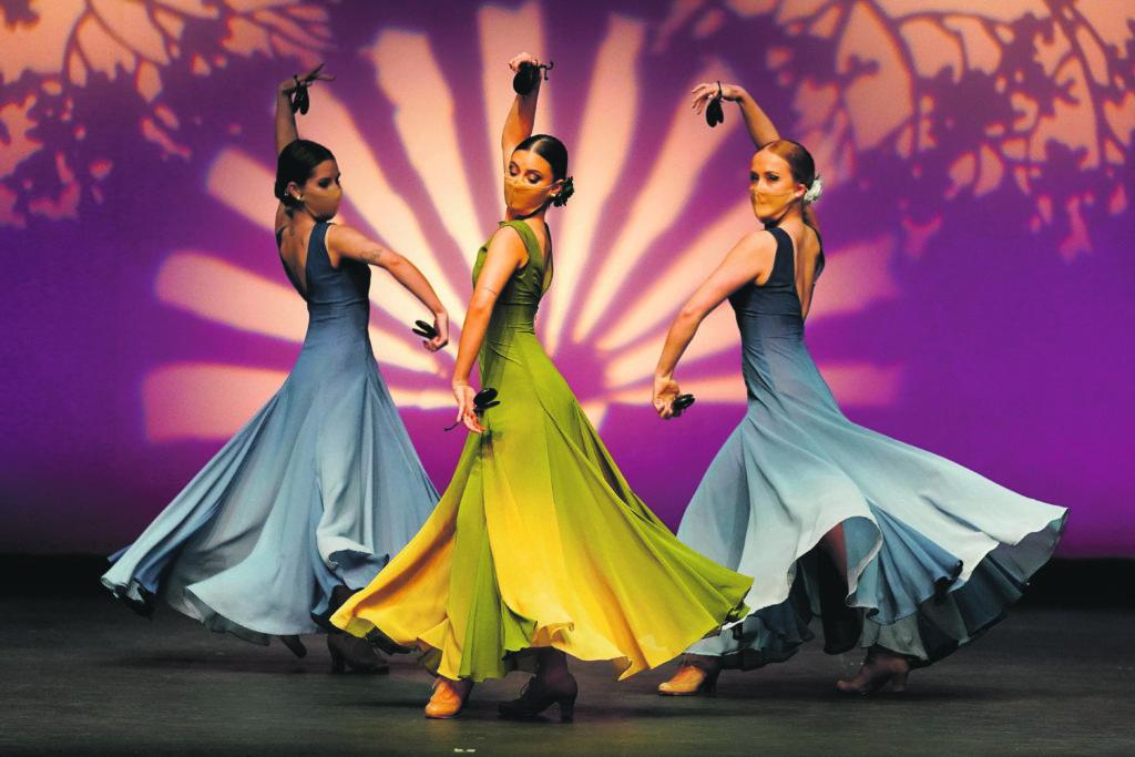 La danza vuelve a triunfar en el escenario