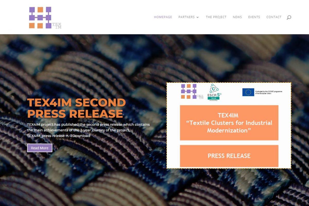 ATEVAL finalitza el seu projecte europeu TEX4IM després de dos anys