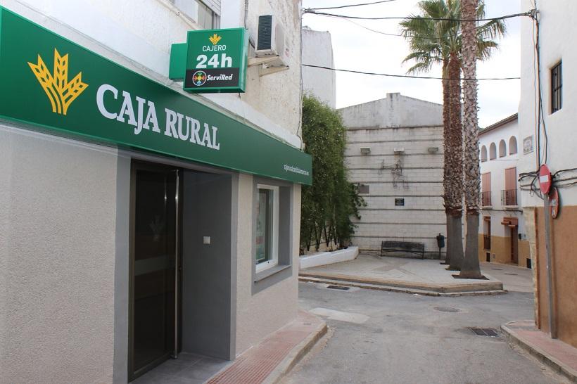 oficina bancaria, Benilloba, Comarques