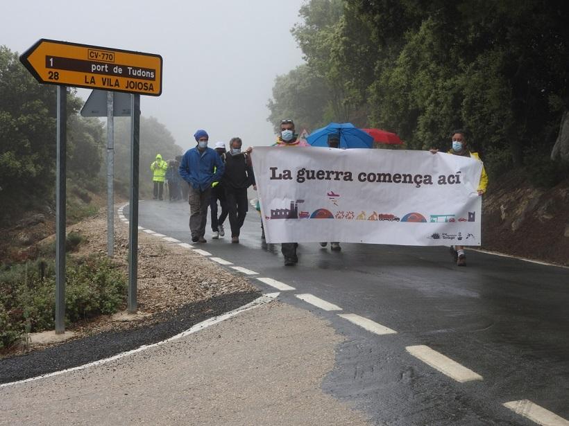 Tornen a demanar la fi de la base militar d'Aitana
