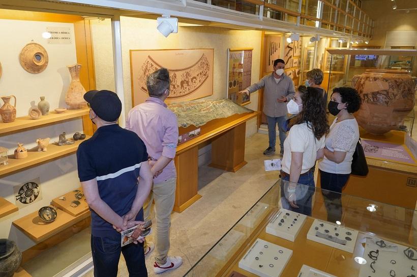 Més de 550 visites en el Dia Internacional dels Museus