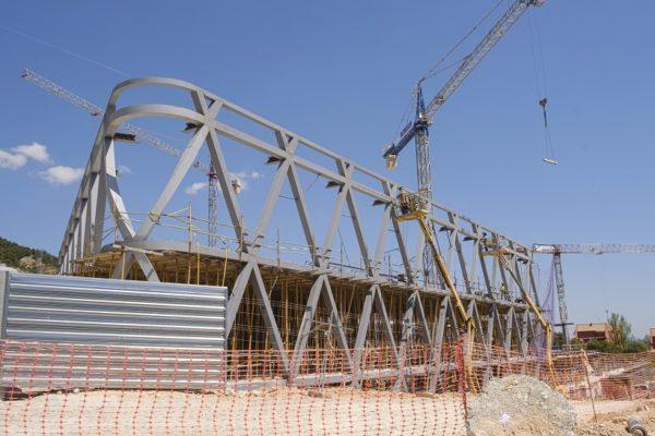 Ja s'albira l'estructura de la nova seu d'Aitex