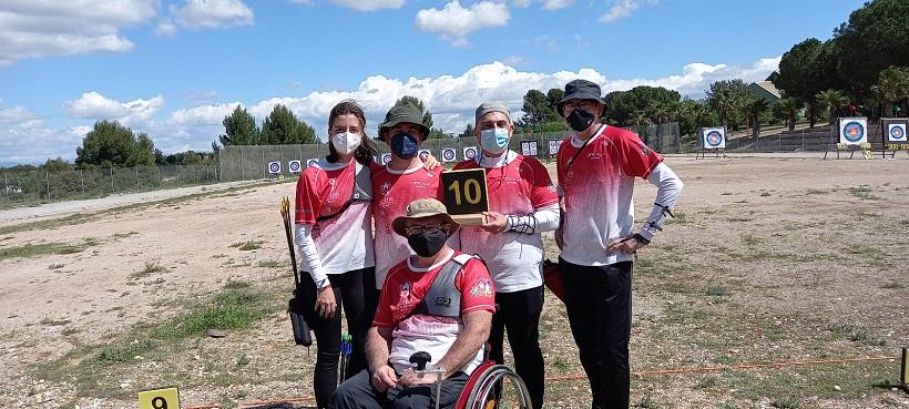 Cinco arqueros del Santa Lucía, en el equipo de la Comunidad