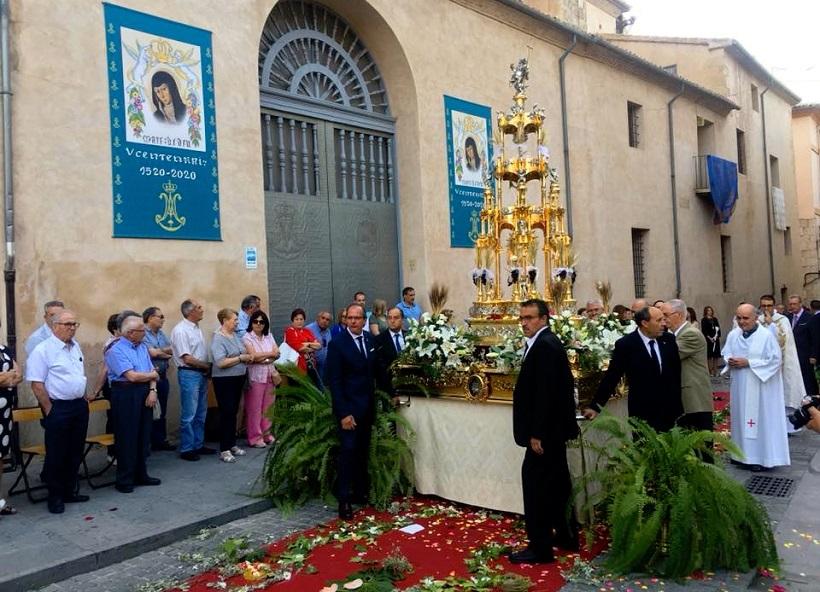 Festa del Corpus dins de les esglésies a la comarca