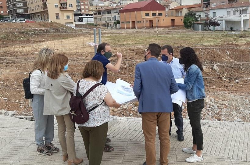 Visita a les obres del nou col·legi Sant Joan Bosco