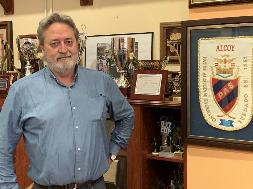 Andrés Hernández reelegit president del Patín Alcodiam