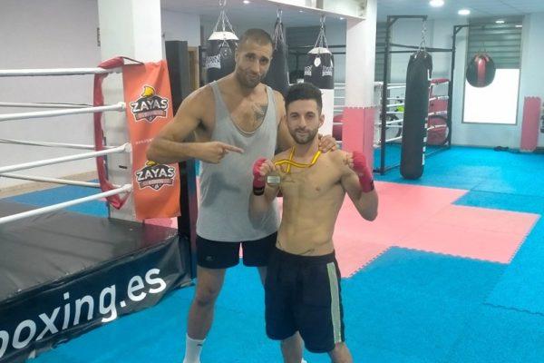 Alejandro Reyes, campeón autonómico de boxeo olímpico
