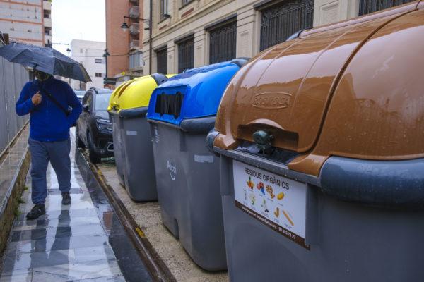 El reciclaje de residuos