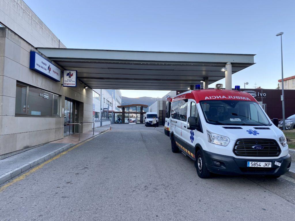 Dos joves ferits en un accident