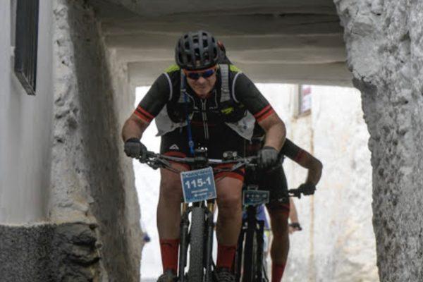 Javier Cantó participa en la Mozárabe Bike Race