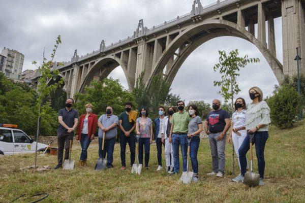 Alcoy se suma a la iniciativa global 'Un árbol por Europa'