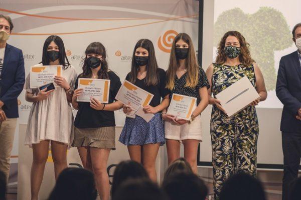 Aitex lliura 15.000 euros a alumnes en premis