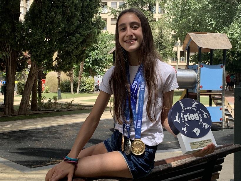 Daniela Picó: campiona de bressol