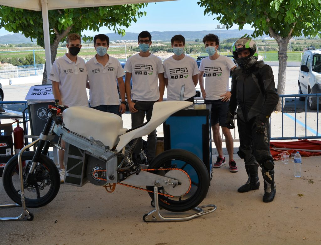 L'EPSA Moto-e participa