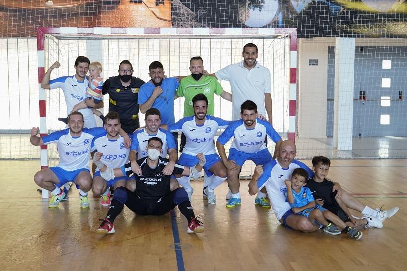 L'Adsalsa s'emporta el títol en la Lliga comarcal de futbol sala