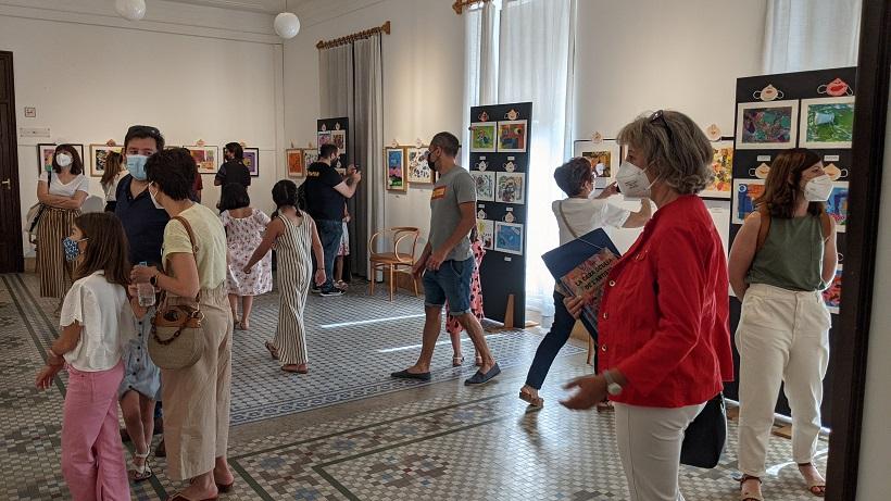 Exposición de Bellas Artes por el 60 aniversario