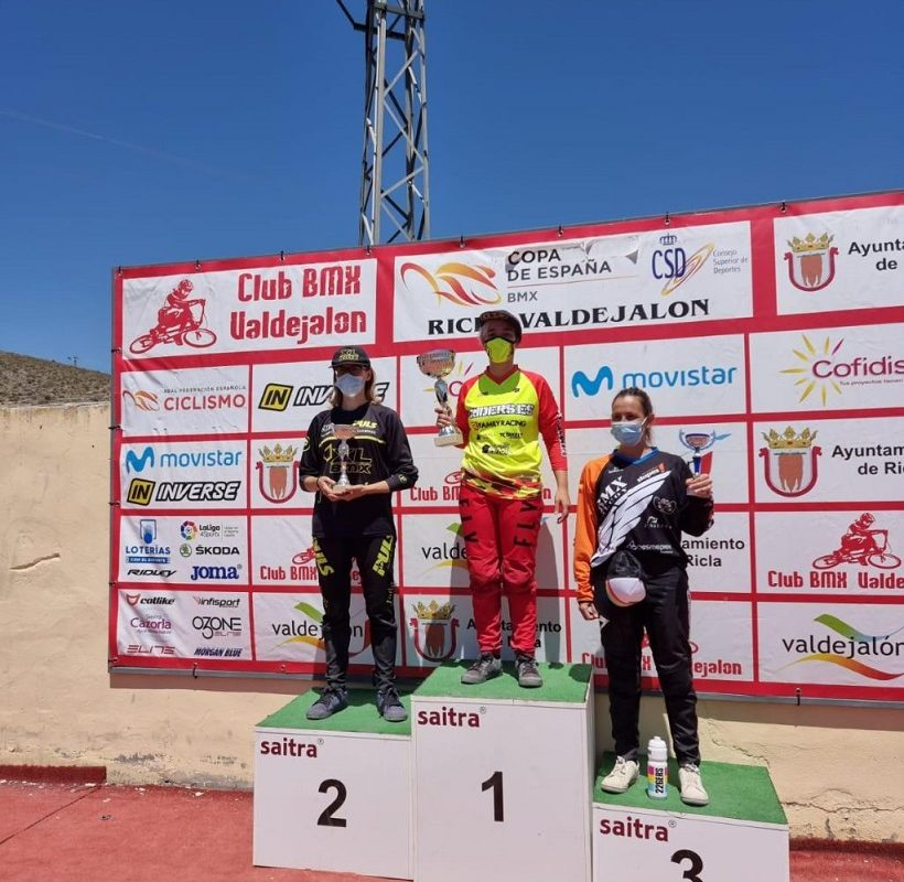 Quatre podis del Club BMX Alcoi en la Copa d'Espanya