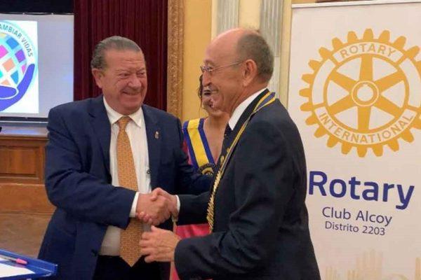 José Vicente Vidal, nou president del Rotary Club Alcoi