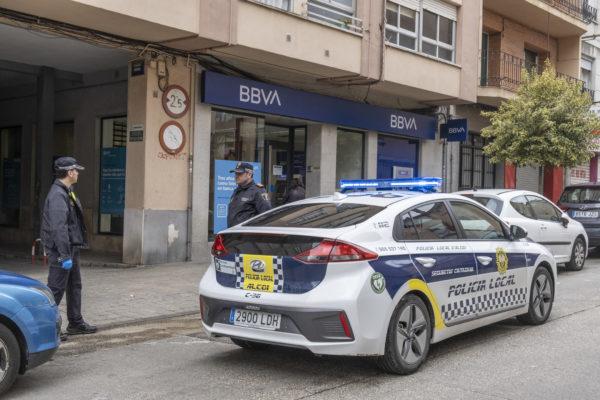 El dispositiu policial anti Covid