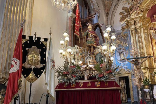 Cocentaina homenatja el seu patró Sant Hipòlit Màrtir