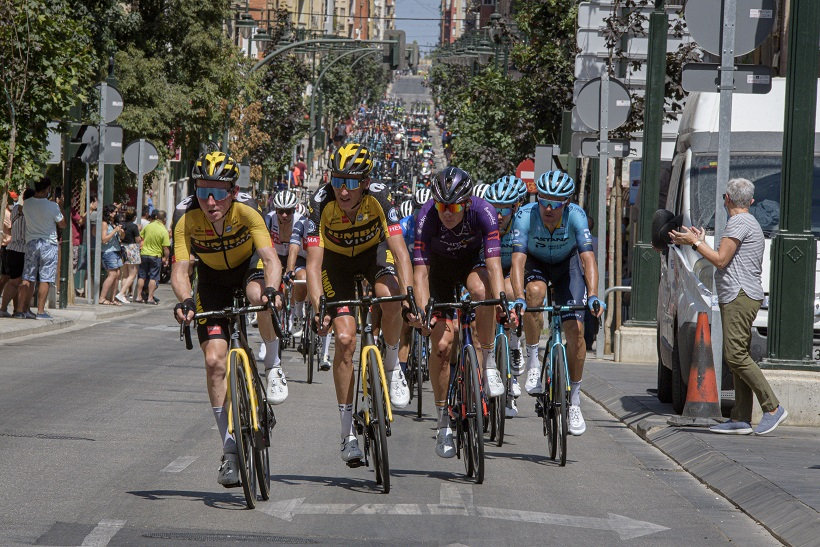 Resumen de la etapa de La Vuelta