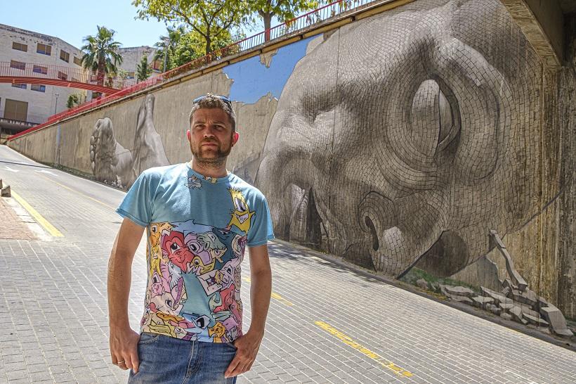 L'art urbà de Vincent Company decora La Sang