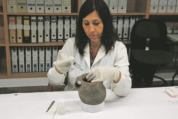 El Museu limitarà la cessió del Vas de l'Orant després de ser restaurat