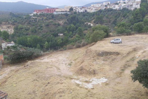 Alcoy adquiere los terrenos para ampliar el nuevo aparcamiento en La Riba