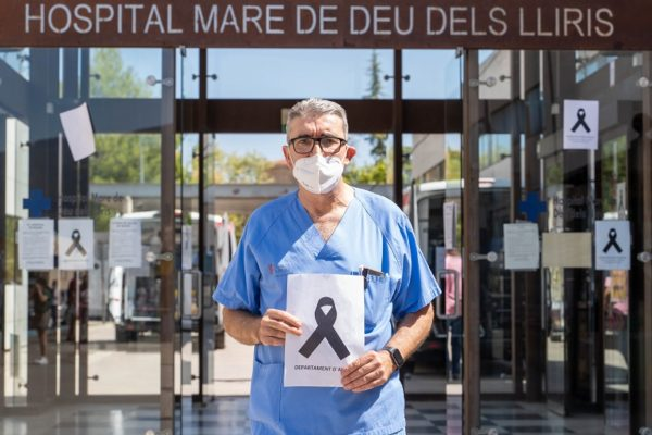 """Alfredo Rizo: """"El Hospital y la Sanidad pueden morirse por falta de personal"""""""