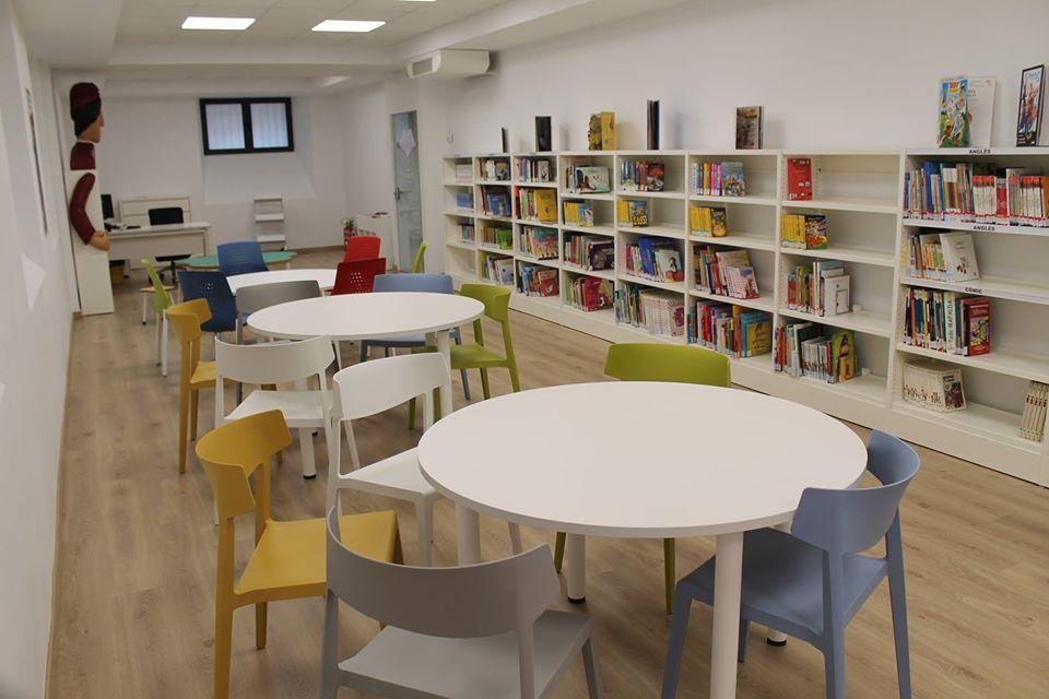 La Biblioteca Tirisiti durà a terme