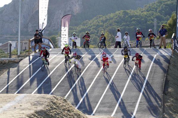 El circuit municipal de BMX rep elogis durant la Copa d'Espanya