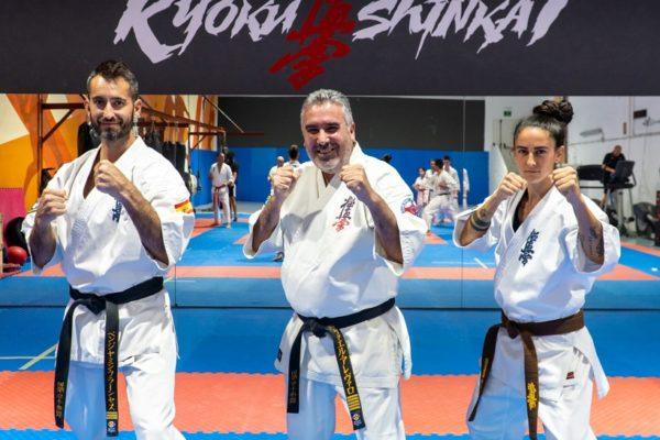 Tres alcoians, en l'elit del karate mundial