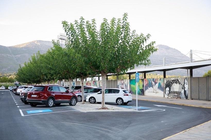 Muro escomet obres a Setla, Mercat, Biblioteca i Josep Bono