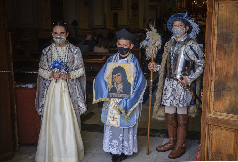 Triats els Comtes i el Mossén per a les festes de la Mareta