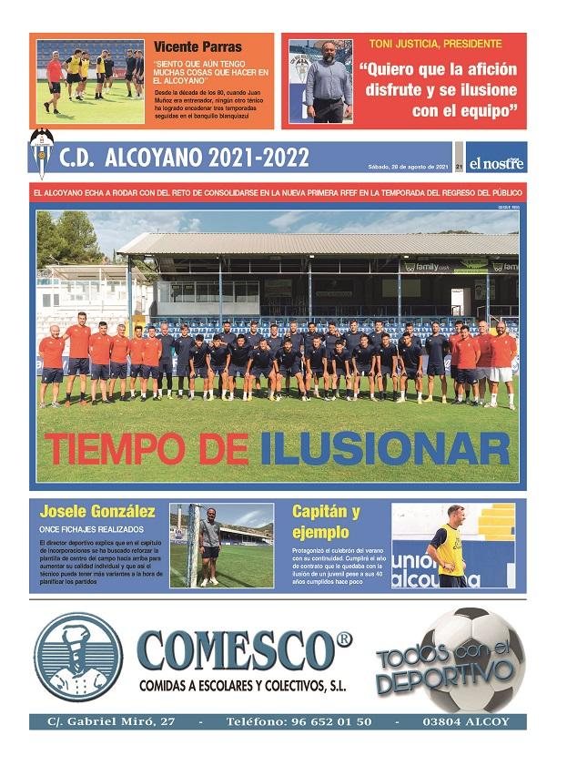 Extra Alcoyano temporada 2021-22