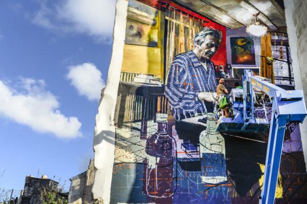 Alcoy difunde el arte urbano