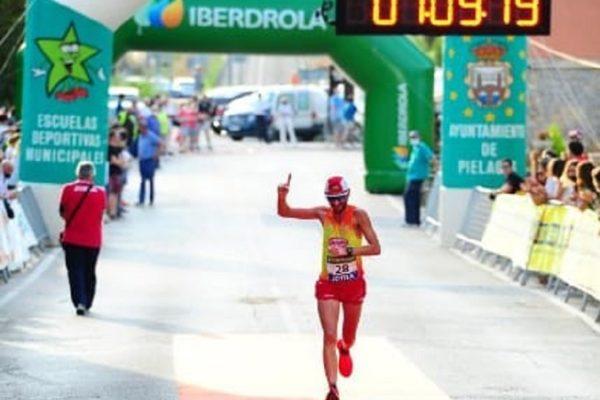 Jordi Bardisa, campió d'Espanya de Mitja Marató en Màster 40