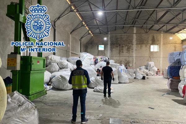 Detenido un empresario textil de Cocentaina