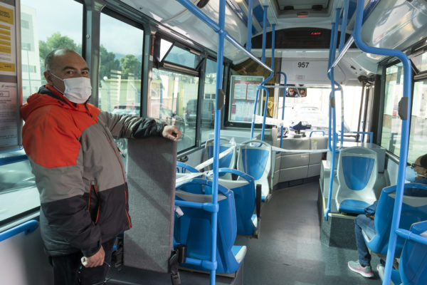 nota a l'autobús d'Alcoi