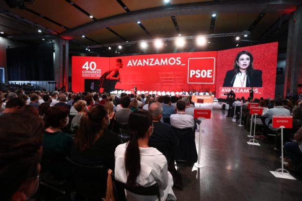Congrés federal del PSOE a València