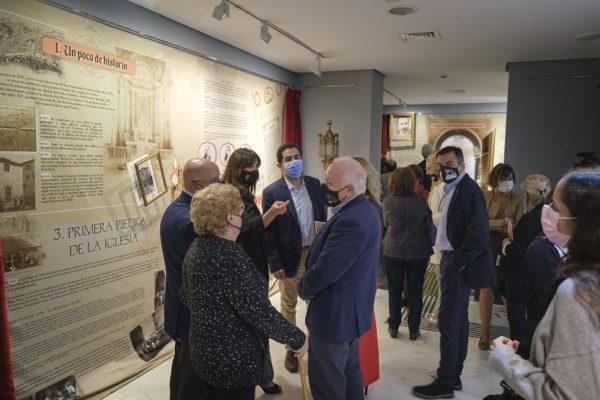 Impactant exposició sobre la història de l'església de Sant Jordi
