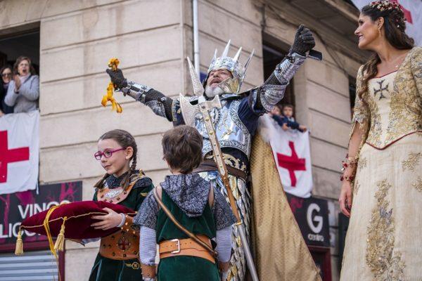 Alcoi reviurà en el Mig Any l'arribada dels cavallers de Jaume I