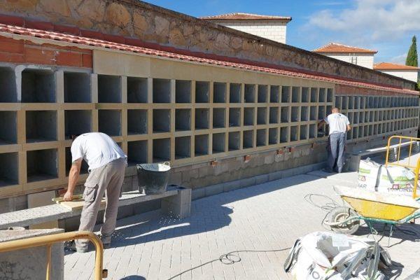 L'Ajuntament d'Alcoi continua treballant per a la recuperació de nínxols