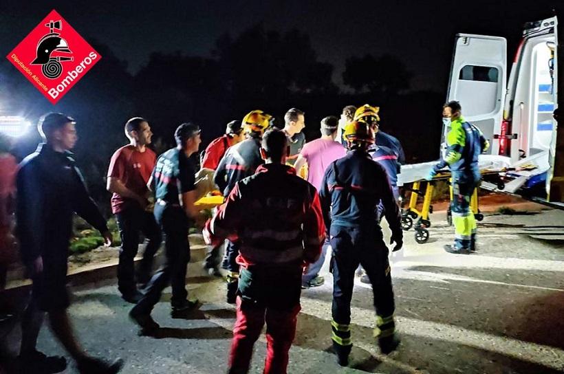 Localitzen i rescaten a un home de 84 anys als voltants de Beniarrés